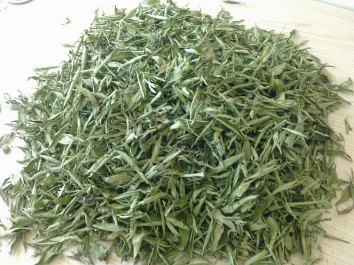 cỏ ngọt khô